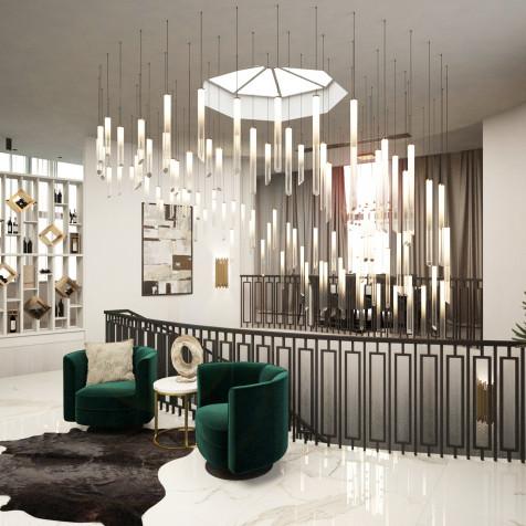 interior of luxury apartment, Bratislava