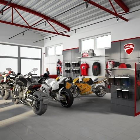 showroom Ducati